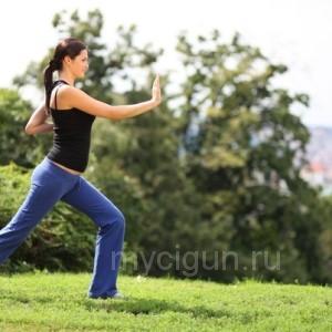 Китайская утренняя оздоровительная гимнастика цигун