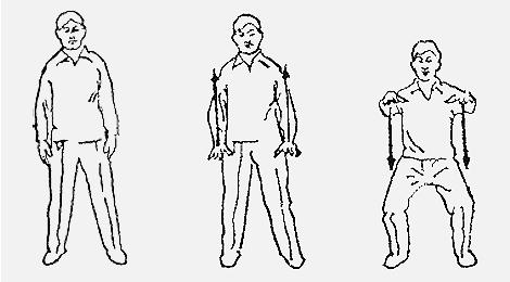 18 форм тайцзи-цигун Форма 1