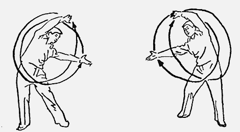 18 форм тайцзи-цигун Форма 16