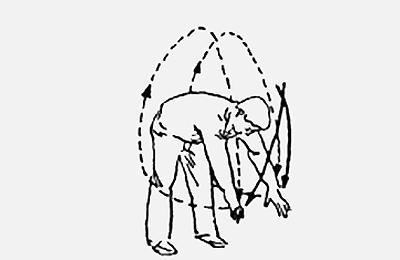 18 форм тайцзи-цигун Форма 6