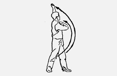 18 форм тайцзи-цигун Форма 8